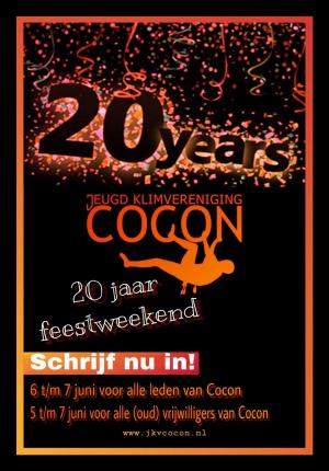 Cocon 20 jaar!